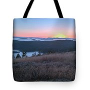 Sunset Over San Juan Islands Tote Bag