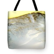Sunset Over Snow Dune In Cape Cod Tote Bag