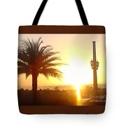 Sunset Over St Augustine Florida Tote Bag