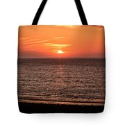 Sunset Over St. Ives Bay Tote Bag