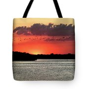 Sunset Over Tampa Bay 2 Tote Bag