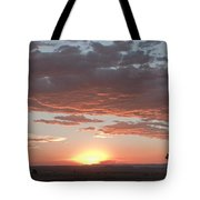 Sunset Over The Mara Tote Bag