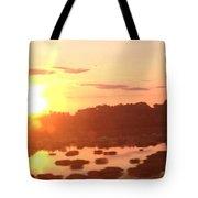 Bright Sunset Tote Bag