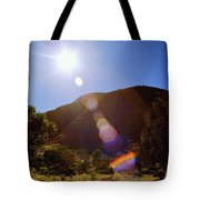 Sunset Over The Olgas Tote Bag