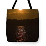 Sunset Over The Thames River Tote Bag