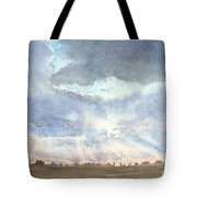 Sunset Over Wharton County Tote Bag