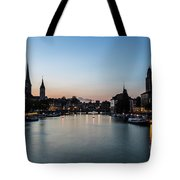 Sunset Over Zurich Tote Bag