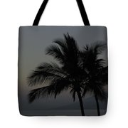 Sunset Palm Tote Bag