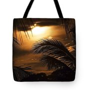 Sunset Palms Tote Bag