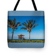 Sunset Palms Delray Beach Florida Tote Bag