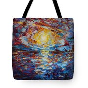 Sunset Pandora Tote Bag