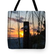 Sunset Post Tote Bag