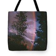 Sunset Rainbow Tote Bag
