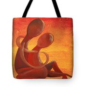 Sunset Rainbow Soul Collection Tote Bag
