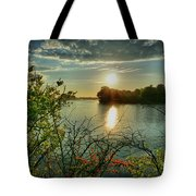 Sunset Reflection Tote Bag