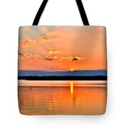 Sunset Reflections 2 Tote Bag