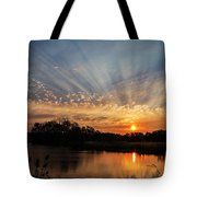 Sunset Refuge Tote Bag