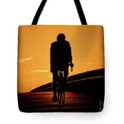 Sunset Ride Tote Bag