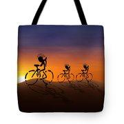 Sunset Riders Tote Bag