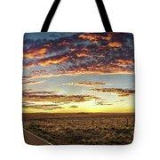 Sunset Road Tote Bag