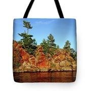 Sunset Rock Tote Bag