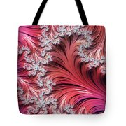Sunset Romance Abstract Tote Bag