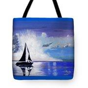 Sunset Sail Tote Bag
