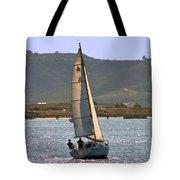 Sunset Sailing Tote Bag
