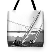 Sunset Sailing Tote Bag
