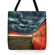 Sunset Saskatchewan Canada Tote Bag