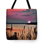 Sunset Scene Tote Bag