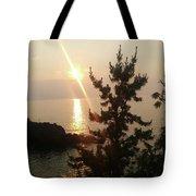 Sunset Scenic Tote Bag