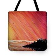 Sunset Sea Tote Bag