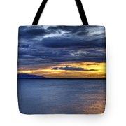 Sunset Seascape Alaska Tote Bag