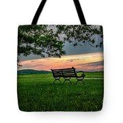 Sunset Seating Tote Bag