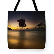 Sunset Shadows Tote Bag