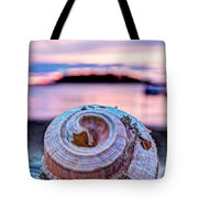 Sunset Shell Tote Bag