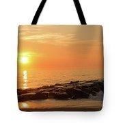 Sunset Shore Tote Bag