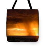 Sunset Shower Tote Bag