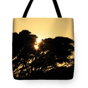 Sunset Silhouette II Tote Bag