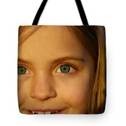 Sunset Smile Tote Bag