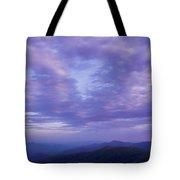 Sunset - Smoky Mountains  Tote Bag