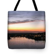 Sunset South Of The Border Tote Bag