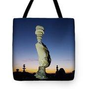 Sunset Stacks Tote Bag