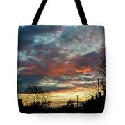 Sunset Street Tote Bag