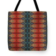 Sunset Strip Tiled Tote Bag