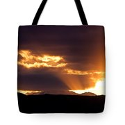 Sunset Sunbeams Tote Bag