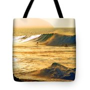Sunset Surfers Tote Bag by Kevin Smith