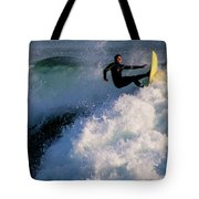 Sunset Surfing Tote Bag