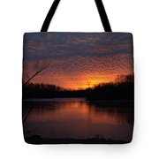 Sunset Textures Tote Bag